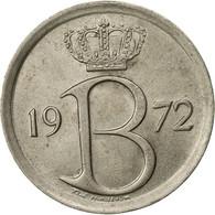Belgique, 25 Centimes, 1972, Bruxelles, SUP, Copper-nickel, KM:153.1 - 02. 25 Centimes