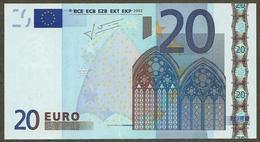 Portugal - M - 20 Euro - U016 H1 - M81986544823 - Trichet - UNC - EURO