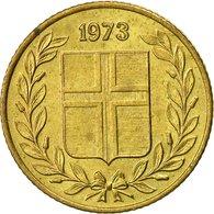 Iceland, 50 Aurar, 1973, TTB, Nickel-brass, KM:17 - Iceland
