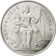 French Polynesia, 5 Francs, 1977, Paris, SUP, Aluminium, KM:12 - Polynésie Française