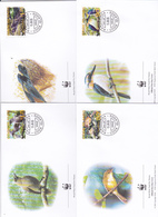 World Wide Fund For Nature 2005 Cook Islands.Suwarroo Set 4 Official First Day Covers - FDC