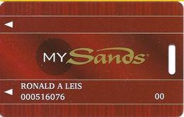 Sands Casino - Bethlehem, PA - Slot Card - Cartes De Casino