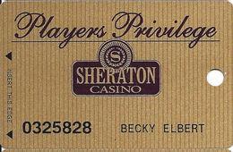 Sheraton Casino - Tunica, MS - Slot Card - Cartes De Casino