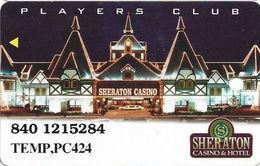 Sheraton Casino - Tunica, MS - TEMPORARY Slot Card - Casino Cards