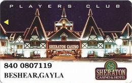 Sheraton Casino - Tunica, MS - Slot Card - Casino Cards