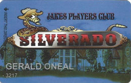 Silverado Casino - Fernley, NV - Slot Card - Reverse Logo At Bottom Right - Cartes De Casino