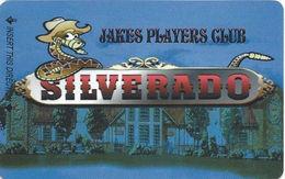 Silverado Casino - Fernley, NV - BLANK Slot Card - Reverse Logo Centered - Casino Cards