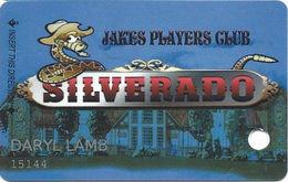 Silverado Casino - Fernley, NV - Slot Card - Reverse Logo Centered - Casino Cards