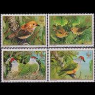 COOK IS. 1989 - Scott# 1016-9 WWF-Birds Set Of 4 MNH - Cook Islands