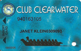 Suquamish Clearwater Casino - Suquamish, WA - Slot Card - Clearwater In Address With Small C - Cartes De Casino
