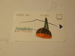 ESPAGNE : TENERIFE (îles Canaries) TELEPHERIQUE Du TEIDE - Transportation Tickets