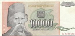 BILLET DE BANQUE  YOUGOSLAVIE  10000 - Yugoslavia