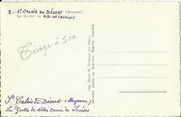 """2174 Epreuve En Vue Tirage 500 Cartes Postales-Mention Manuscrite """" St Calais Du Désert  Grotte De ND De Lourde """" - Frankreich"""