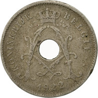 Belgique, 10 Centimes, 1922, TB+, Copper-nickel, KM:86 - 1909-1934: Albert I