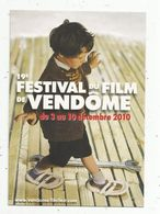 Cp , Spectacle , 19 E Festival Du Film De VENDOME ,2010 , Vierge - Autres