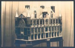 75 PARIS 1937 Carte Photo Maison Du Travail Maquette - Non Classés