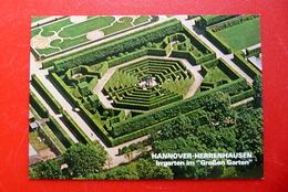 Hannover Herrenhausen Luftaufnahme Irrgarten Im Großen Garten Niedersachsen, AK Nicht Gelaufen - Hannover