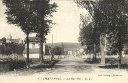 CHATENOIS  La Barrière Cycliste Recto Verso - Chatenois