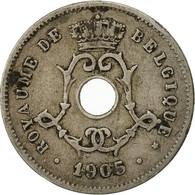 Belgique, 5 Centimes, 1905, TB+, Copper-nickel, KM:54 - 1865-1909: Leopold II