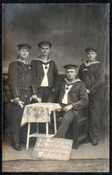 B2321 - 1. Torpedo Div. - Uniform Propaganda  - Nachlaß Carl Creve Kamminke - Lesen !!! - War 1914-18