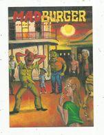 Cp , BANDES DESSINEES , MADBURGER  ,  Comics Questioning Sanity,  Vierge ,Matthias Lehmann - Cómics