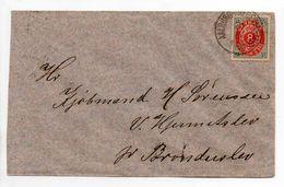 - Lettre Aalborg Pour Brønderslev - A ETUDIER - - 1864-04 (Christian IX)