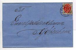 - Lettre Skælskør Pour KJØBENHAVN (Copenhague) 19.9.1885 - A ETUDIER - - Lettres & Documents