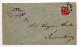 - Lettre KJØBENHAVN (Copenhague) Pour Svendborg 13.10.1885 - A ETUDIER - - Lettres & Documents
