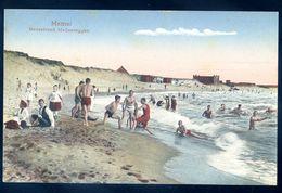 Cpa De Lituanie Memel Badestrand Mellneraggen   -----   Lithuania Lituania MARS18-09 - Lithuania