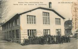 LE PUY EN VELAY MAISON FELIX BOUDIGNON SORTIE D'UN DES ATELIERS DE CONFECTION - Le Puy En Velay