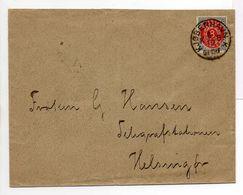 - Lettre KJØBENHAVN (Copenhague) Pour Helsingør (Elseneur) 6.10.1892 - A ETUDIER - - Lettres & Documents