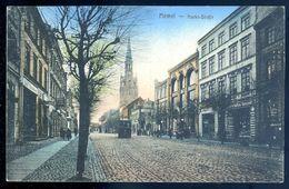 Cpa De Lituanie Memel  Markt Strasse   -----   Lithuania Lituania MARS18-09 - Lithuania