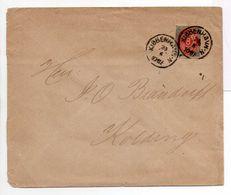 - Lettre KJØBENHAVN (Copenhague) Pour Kolding 23.6.1895 - A ETUDIER - - Lettres & Documents