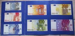 FASCICULE EURO AVEC BILLETS SPECIMEN DETACHABLES - Altri