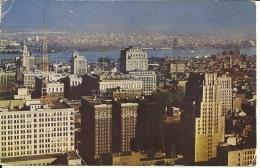 UNITED STATES AMERICA  PA  PHILADELPHIA   Wiew Toward B Franklin Hotel And Delaware River - Philadelphia