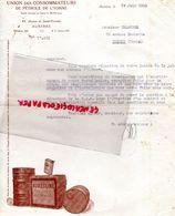 89- AUXERRE- RARE LETTRE UNION CONSOMMATEURS DE PETROLE DE L' YONNE- 43 AV. SAINT FLORENTIN- G. CALANDRE JOIGNY-1933 - Cars
