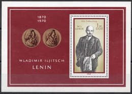 Allemagne - DDR - Bloc-Feuillet N° 26 Neuf ** - Centenaire De La Naissance De Lénine - Blocks & Kleinbögen