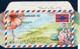 POLYNESIE 1990 Aérogramme 76F Yv 9 Neuf ** - Aérogrammes
