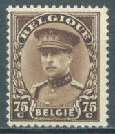 BELGIQUE - 1932 - MNH/*** LUXE - ALBERT EN CASQUETTE ALBERT MET KEPI  - COB 341 - Lot 16443 - Unused Stamps