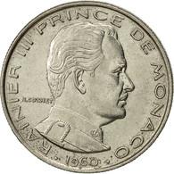 Monaco, Rainier III, Franc, 1960, TTB, Nickel, KM:140, Gadoury:MC 150 - Monaco