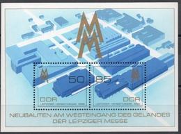 Allemagne - DDR - Bloc-Feuillet N° 98 Neuf ** - Foire D'Automne De Leipzig - Blocks & Kleinbögen