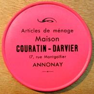 MIROIR ARTICLES DE MENAGE MAISON COURATIN-DARVIER 17 RUE MONTGOLFIER ANNONAY - Publicidad