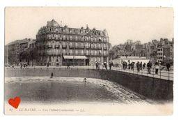 21158-LE-76-LE HAVRE-Vers L' Hôtel Continental----------animée - Le Havre