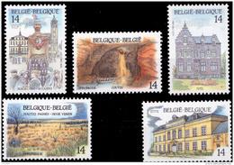 Belgium 2410/14** Tourisme  MNH - Belgique