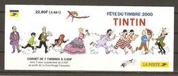 France - 2000 - Fête Du Timbre - Tintin - Carnet Neuf - NON Plié -  BC 305 - Carnets