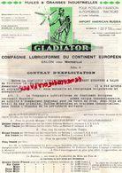 13- SALON DE PROVENCE-RARE LETTRE GLADIATOR-COMPAGNIE LUBRICIFORME CONTINENT EUROPEEN-HUILES GRAISSES AUTOMOBILES-1937 - Cars