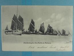 Blankenberghe Une Flotille De Pêcheurs - Blankenberge