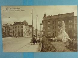 Blankenberghe Boulevard De Smet De Nayer Vers La Gare - Blankenberge