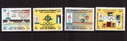 Jordan-1996,(Mi.1602-1605), Sport, Olympic-1996 - Summer 1996: Atlanta