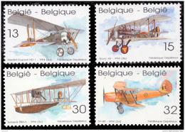 Belgium 2543/46**  Avions  MNH - Belgique